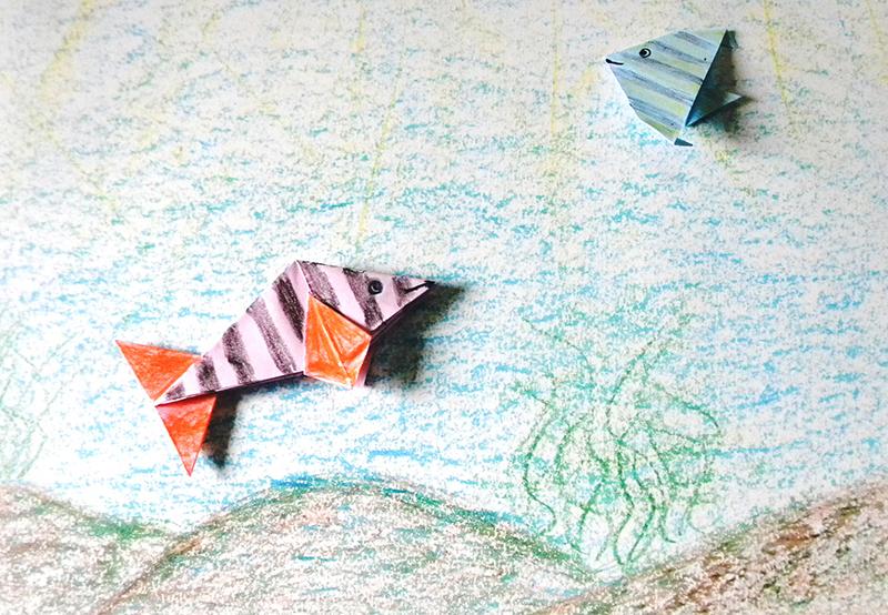 13 - Ijaci - Escola Municipal Prof Emilio Luis Lunkes origami