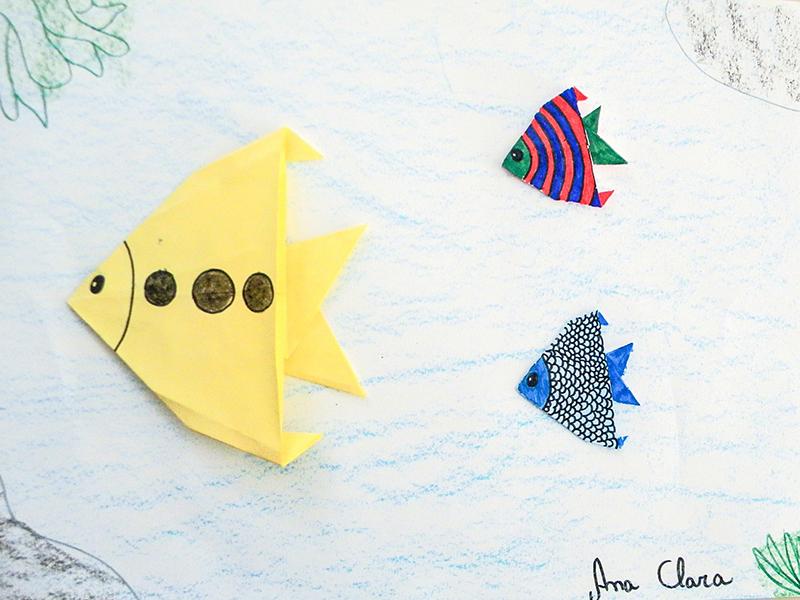 14 Itutinga - Escoal Estadual Jaime Ferreira Leite origami