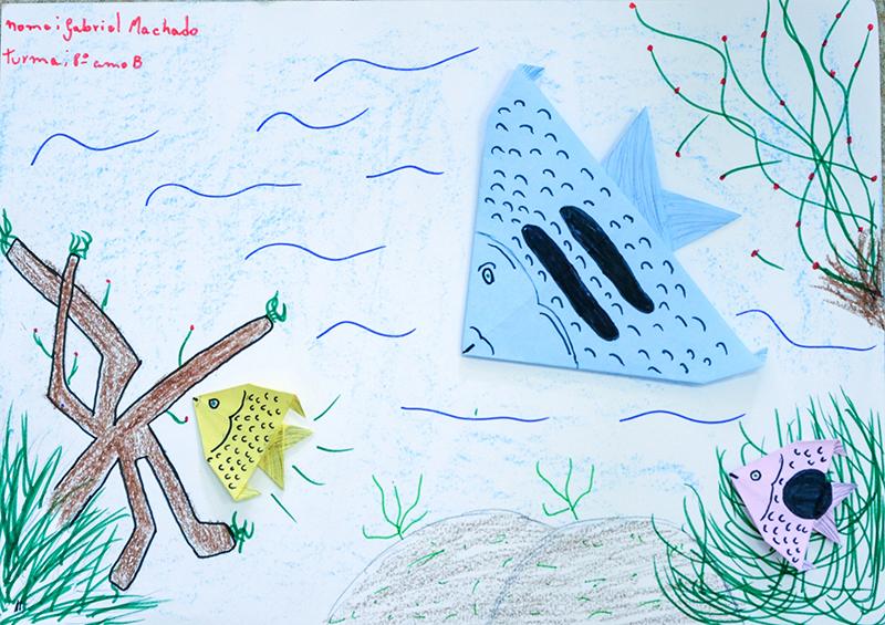16 - Lavras - Escoal Municipal José Luís Mesquita origami