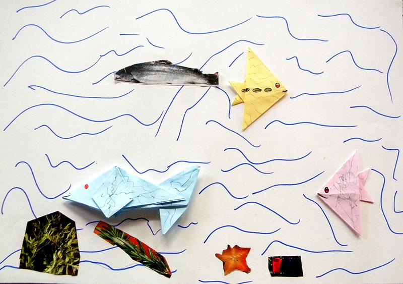 2 - Bocaina de Minas - Escola Municipal Álvaro Benfica (Oficina 1) origami