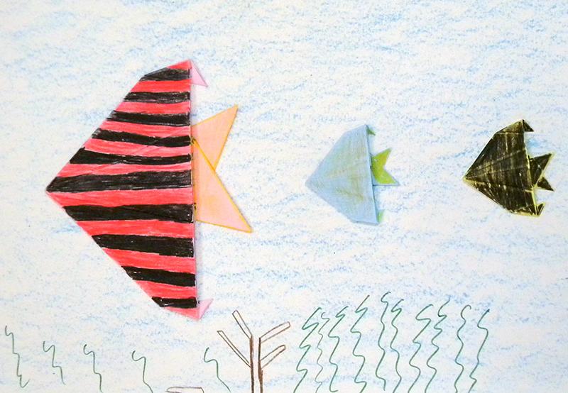 25 - São João Batista do Glória - Escola Municipal Clotilde de Simone (Oficina 1) Origami