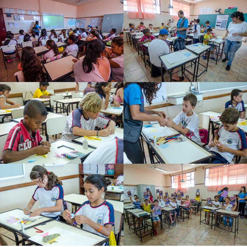 26 - São João Batista do Glória - Escola Municipal Clotilde de Simone (Oficina 1)