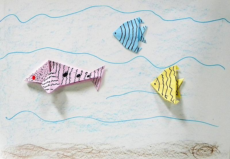 4 - Liberdade - Escola Estadual Frei José Wulff origami