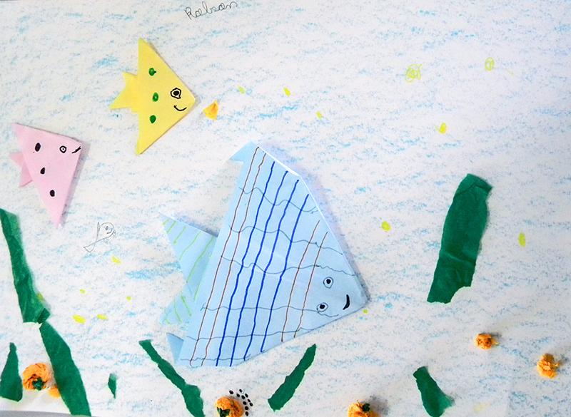 5 - Liberdade - Escola Municipal Professor José Estevão (Oficina 1) origami