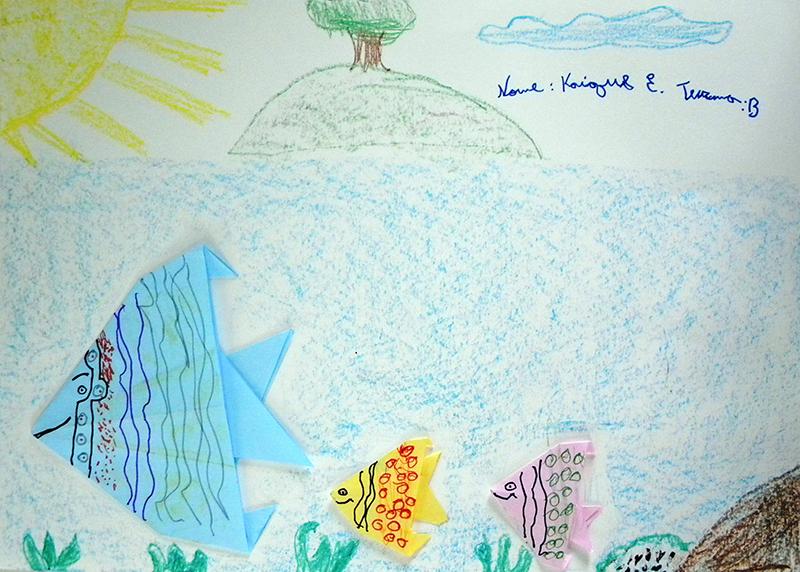 7 - Bom Jardim de Minas - Escola Municipal Monsenhor Nardy (Oficina 1) origami