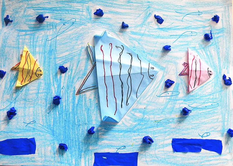 8 - Bom Jardim de Minas - Escola Municipal Monsenhor Nardy (Oficina 2) origami